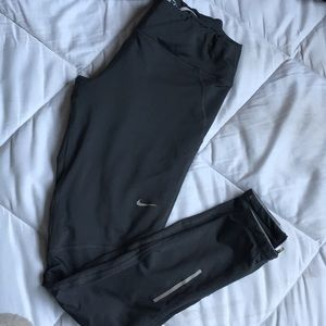 Nike dri fit reflective leggings